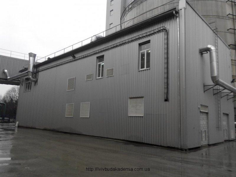 Додаткова будівля після відновлення